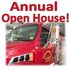 Annual Fire Department Open House