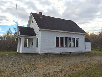 McIntosh One-Room School House Side