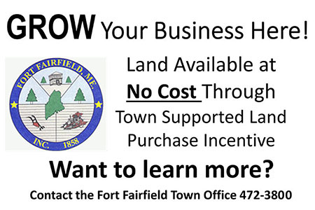 Fort Fairfield Municipal Land Incentive Program