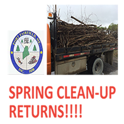 SPRING CLEAN-UP RETURNS!